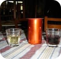 κρασί χύμα = verë e hapur